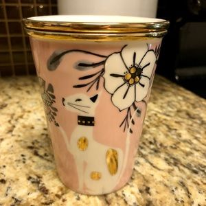 Anthropologie ceramic mug